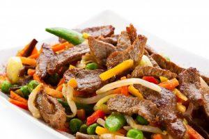 Cuisines asiatiques - boeuf